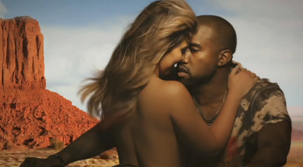 bound 2 kanye west video