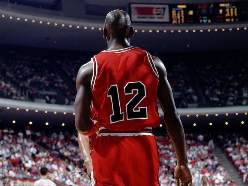 Michael Jordan numero 12