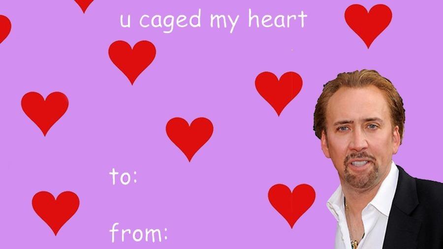 Nicolas-Cage meme valentine