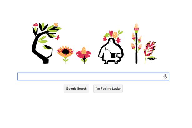 google doodle equinox