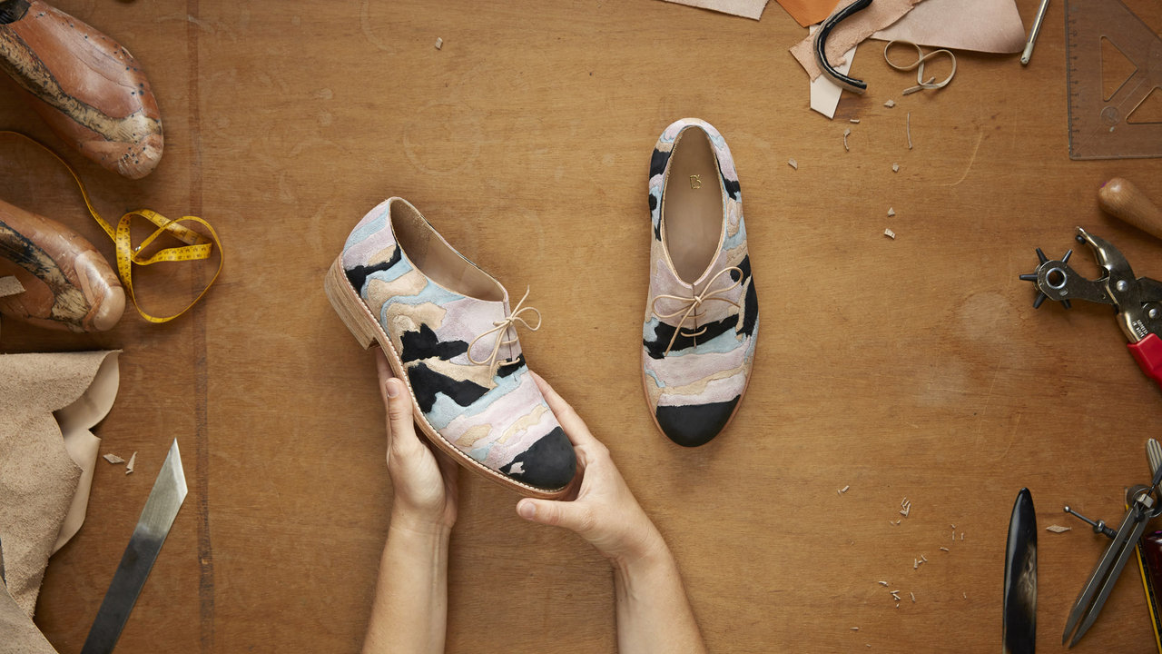 La geologia delle scarpe