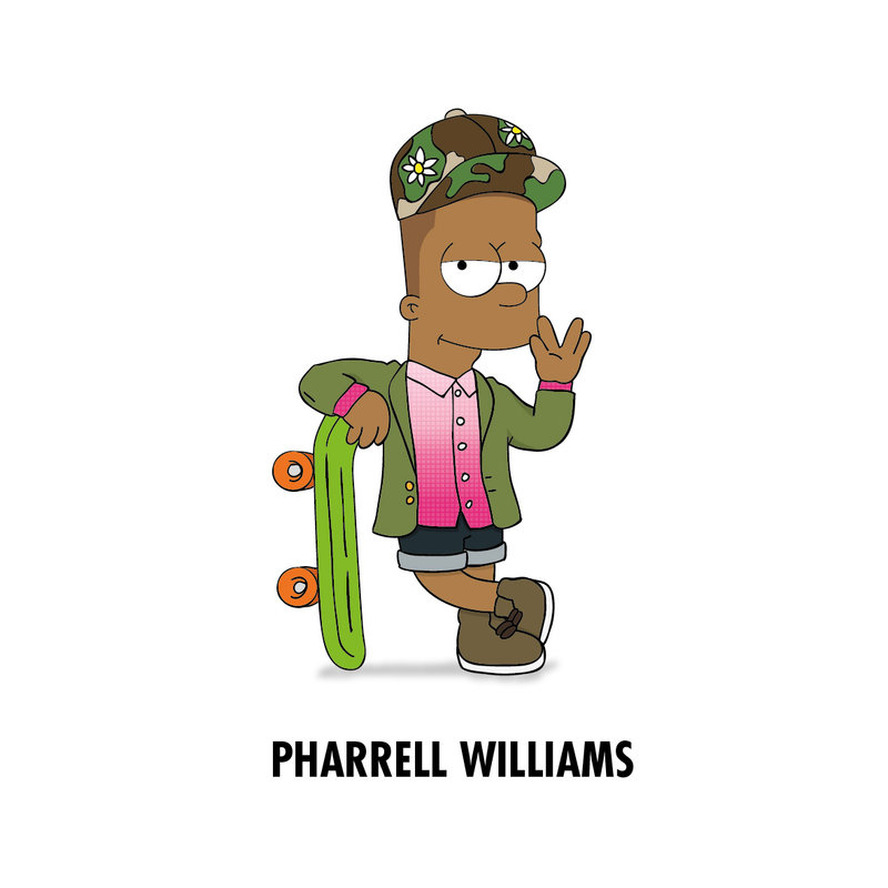 pharrell_x_bart_by_zhiyun3588-d6ocoxv