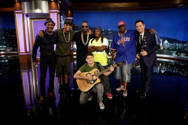 Amazing-jam-session-Kimmel-608x405