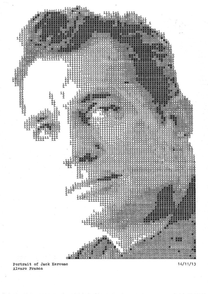 Typewritten_Portraits_BW_Portraits_Of_Literary_Authors_Created_With_A_Typewriter_2014_02