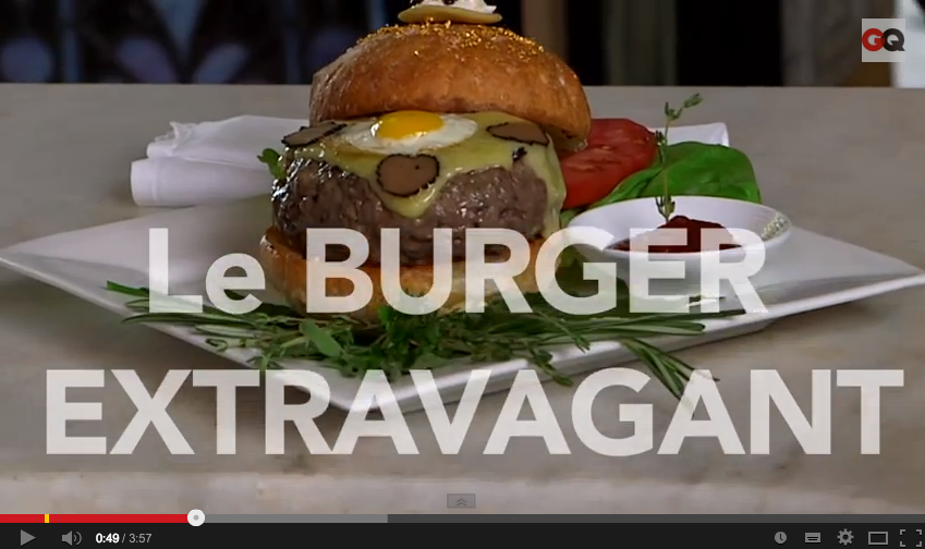 the most expensive burger in the world