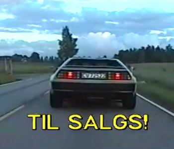 TODD TERJE – Delorean Dynamite (for sale) / VIDEO