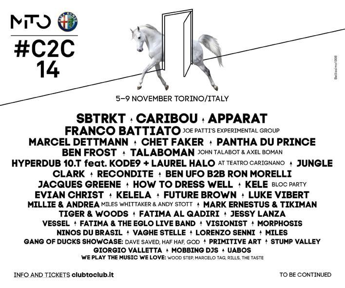 programma club to club 2014