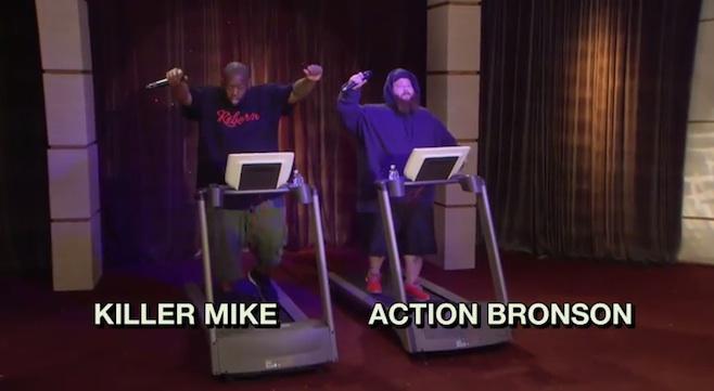 Killer Mike e Action Bronson
