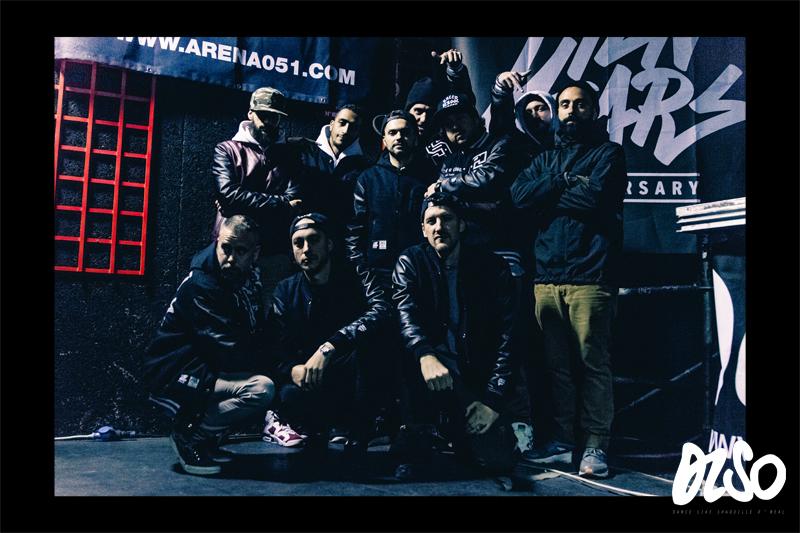 La crew della Unlimited Struggle