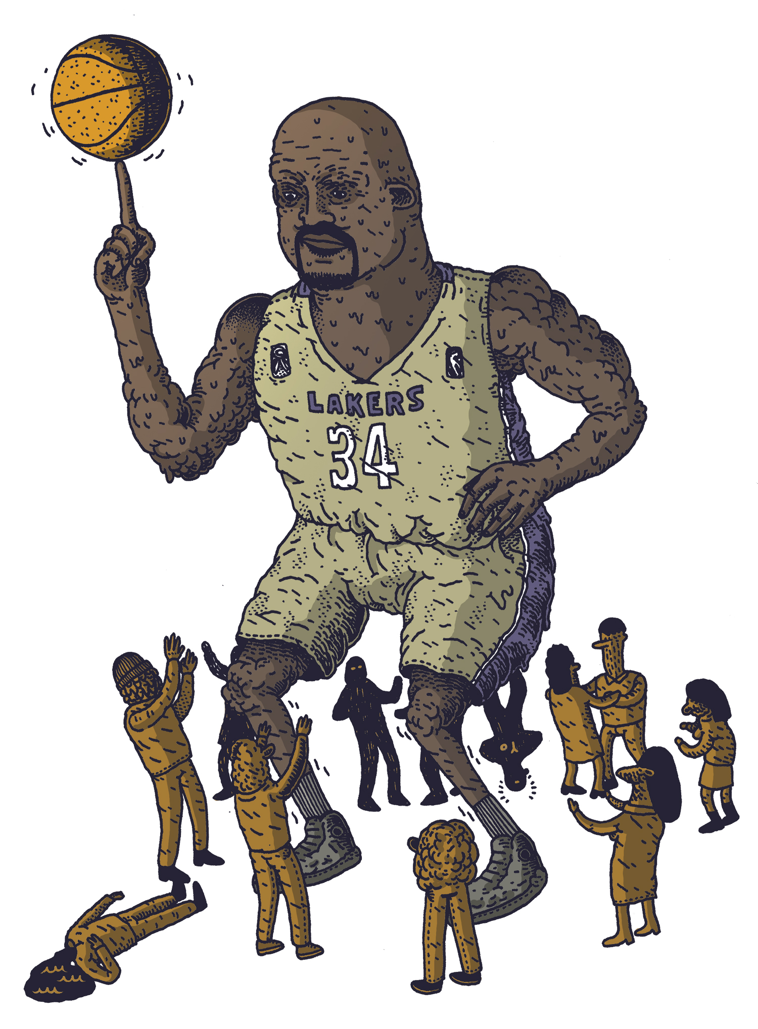 Dance Like Shaquille O'Neal (Alessandro Ripane)