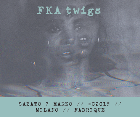 fka twigs in italia