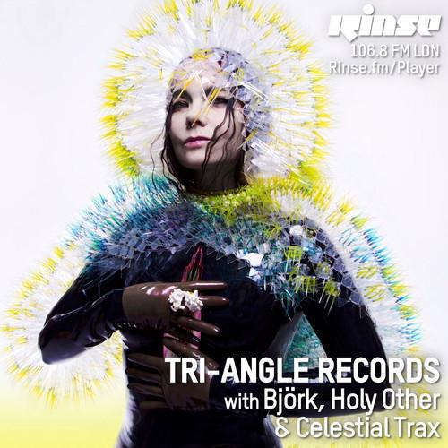 Ascoltati lo show Tri Angle su Rinse FM con Björk