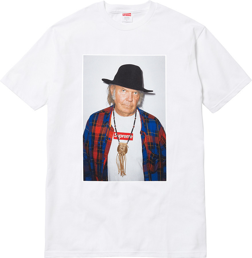 La collaborazione tra Supreme e Neil Young