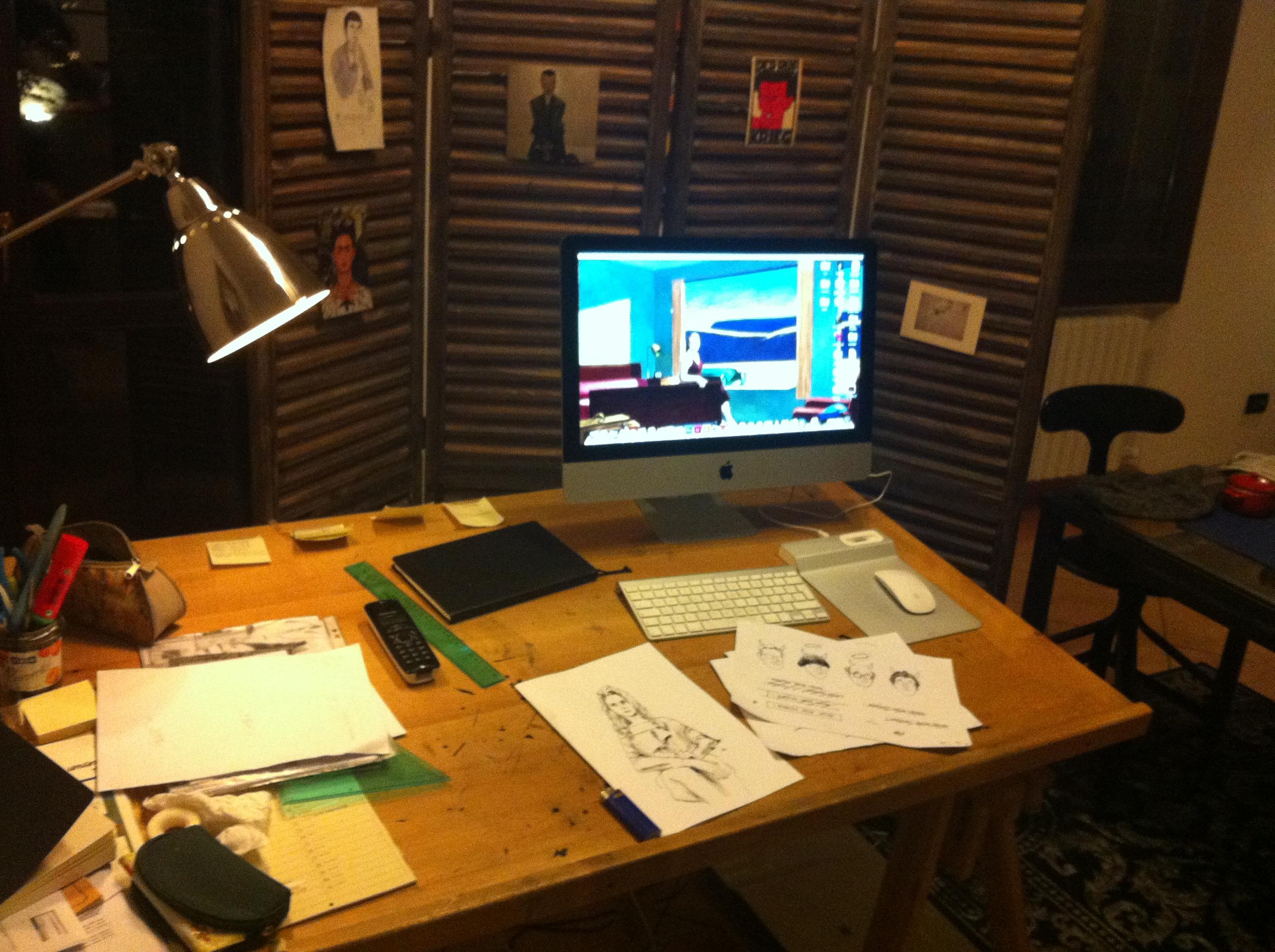 scrivania francesca zoni