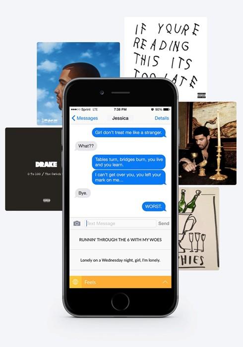La tastiera di Drake per il tuo telefono