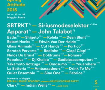 Spring Attitude Festival: parola ad Andrea Esu