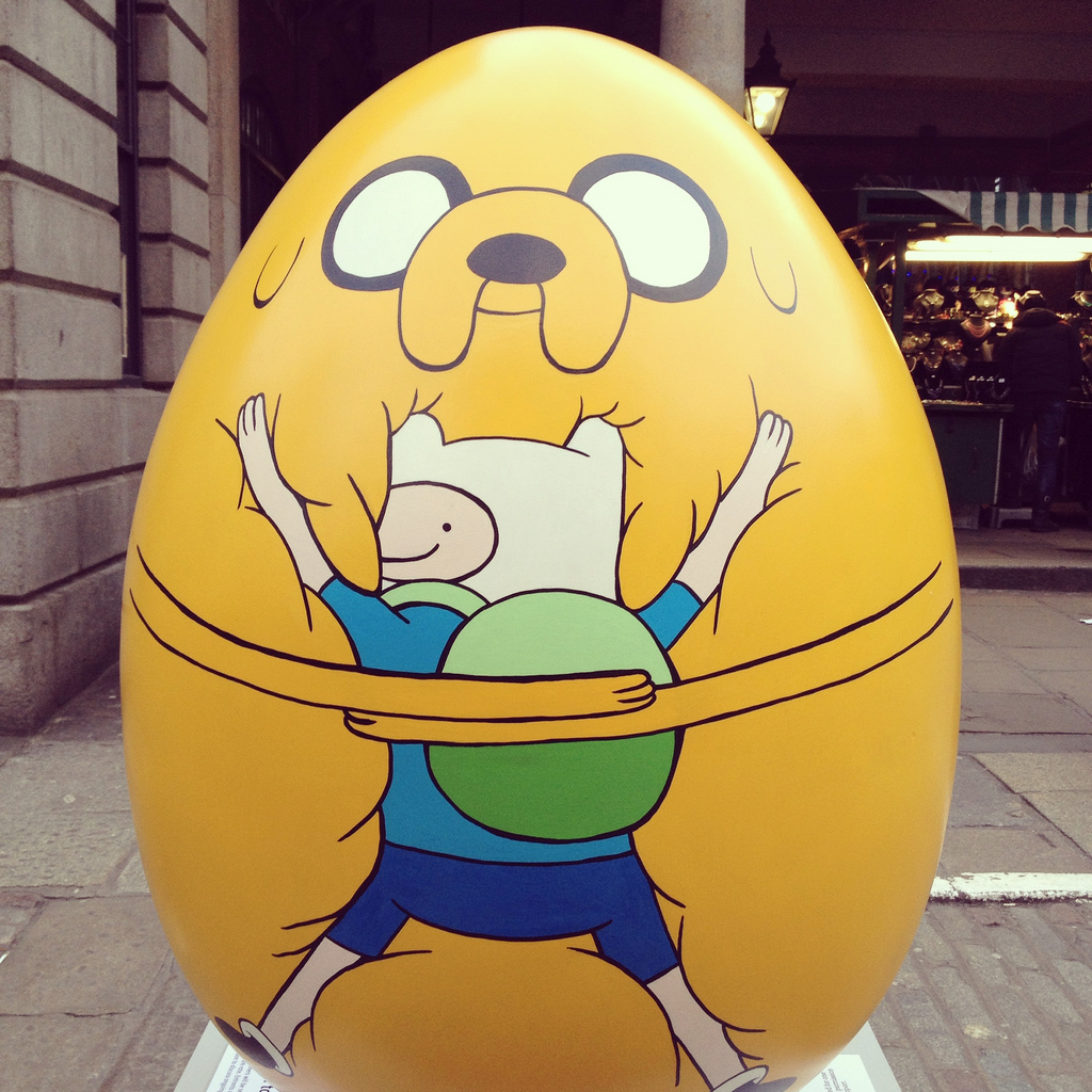 adventure time easter