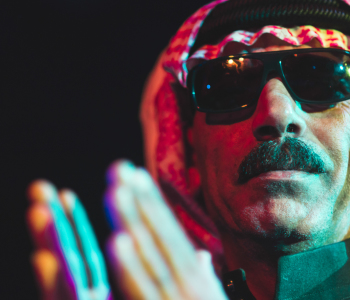 Omar Souleyman in session
