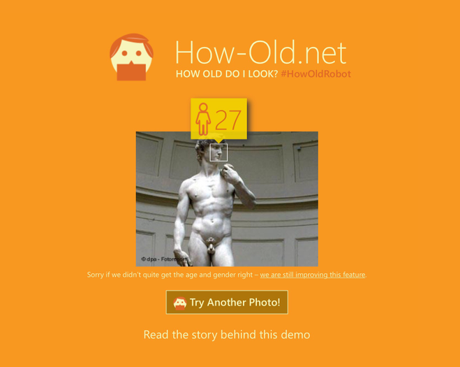 how old do i look - david