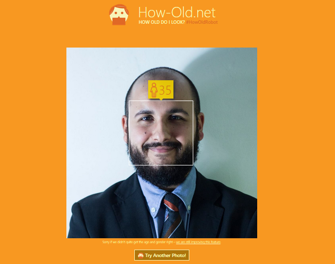 how old do i look - livio