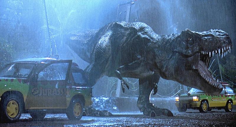 Il tema di Jurassic Park rallentato