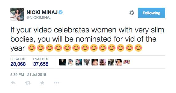 Nicki Minaj vs VMA