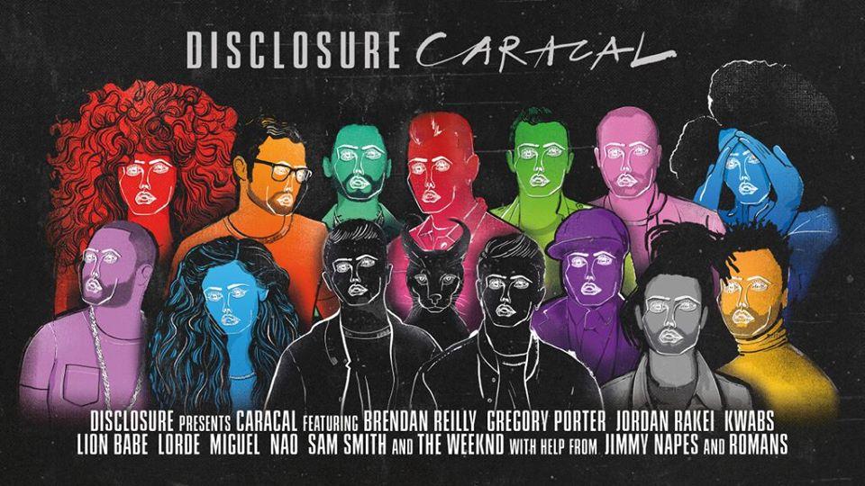 Disclosure Caracal Tracklist