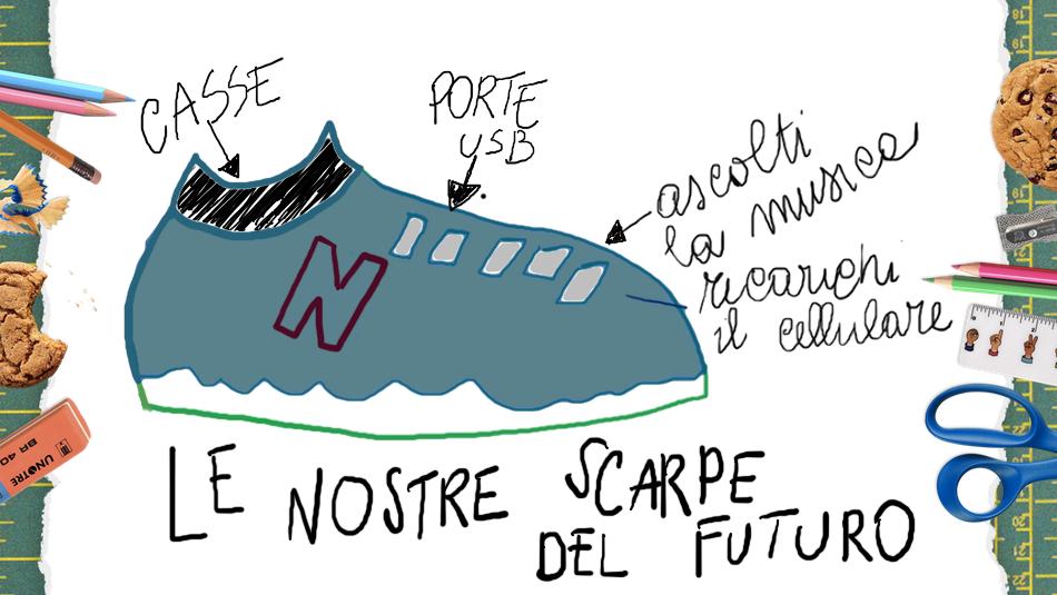 LE NOSTRE SCARPE DEL FUTURO