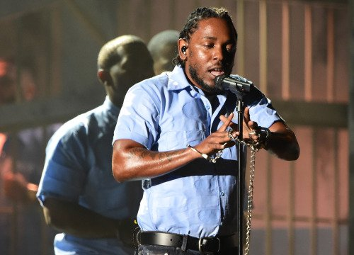 Kendrick Lamar @ Grammys 2016