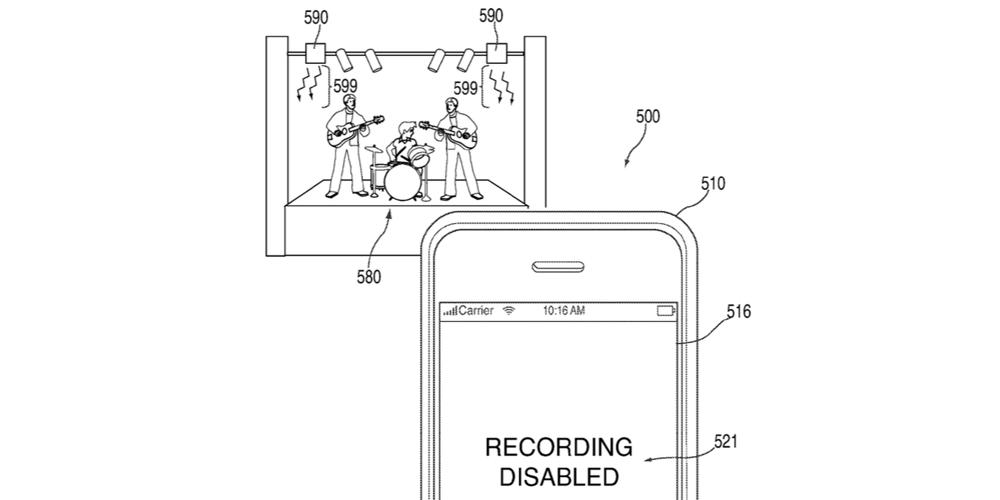 apple potrebbe impedire di fare foto ai concerti