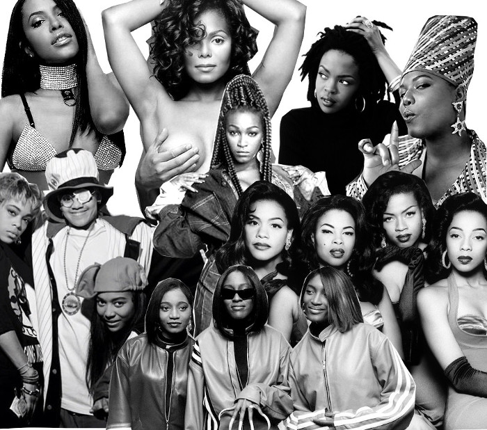 Ascoltati il nostro mixato col meglio dell' R&B dei '90
