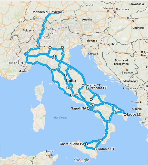 percorso-tour-daniele-sciolla