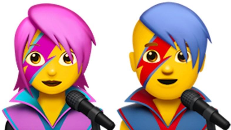 David Bowie tra le nuove emoji nel prossimo iOS 10.2