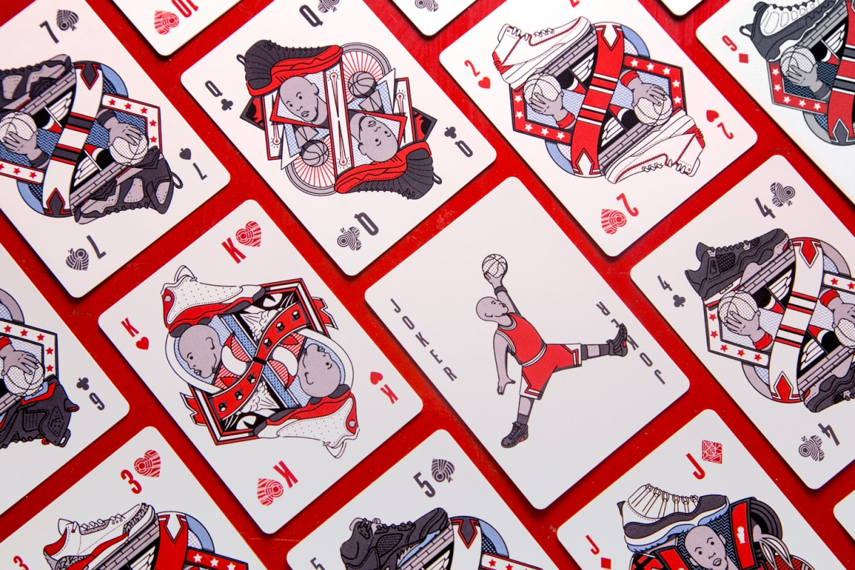 Mazzo di carte tributo a Michael Jordan
