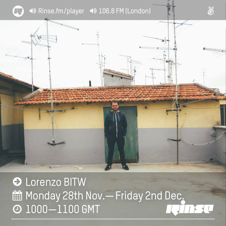 lorenzo BITW rinsefm