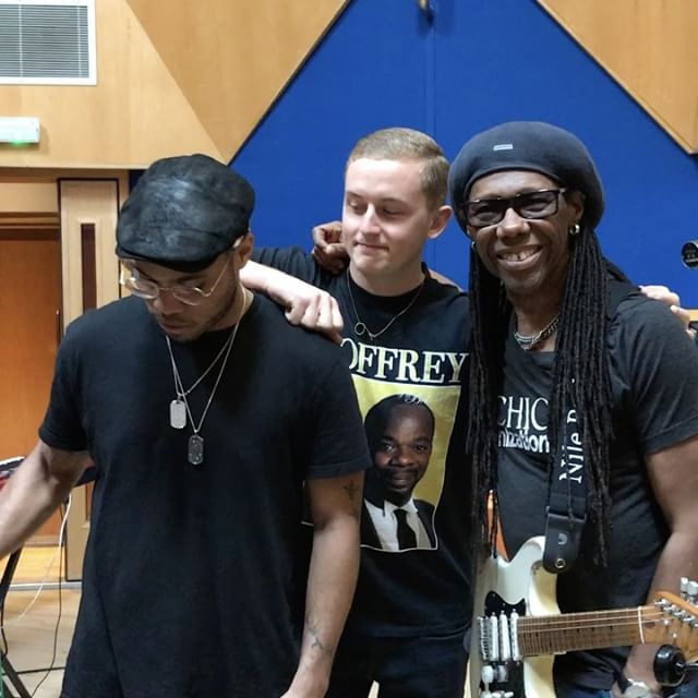 Anderson .Paak, Nile Rodgers e Howard Guy (Disclosure) in studio insieme